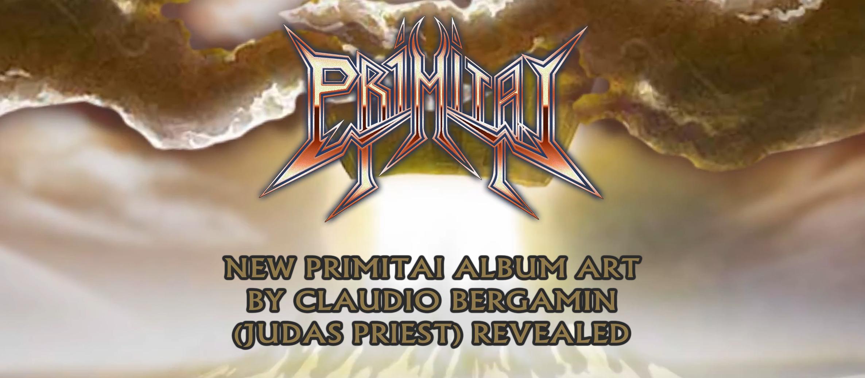 New album art by Claudio Bergamin (JUDAS PRIEST) revealed for upcoming Primitai album 'THE CALLING'!
