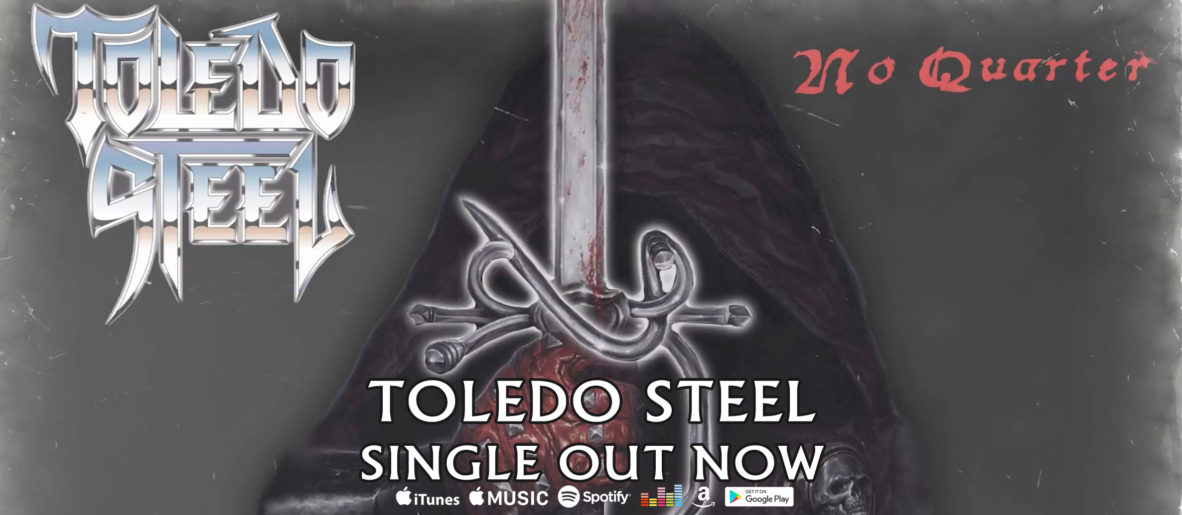 New Toledo Steel Single 'No Quarter' Out Now!