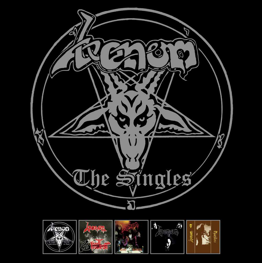 Venom 'The Singles' CD Boxset Coming soon!