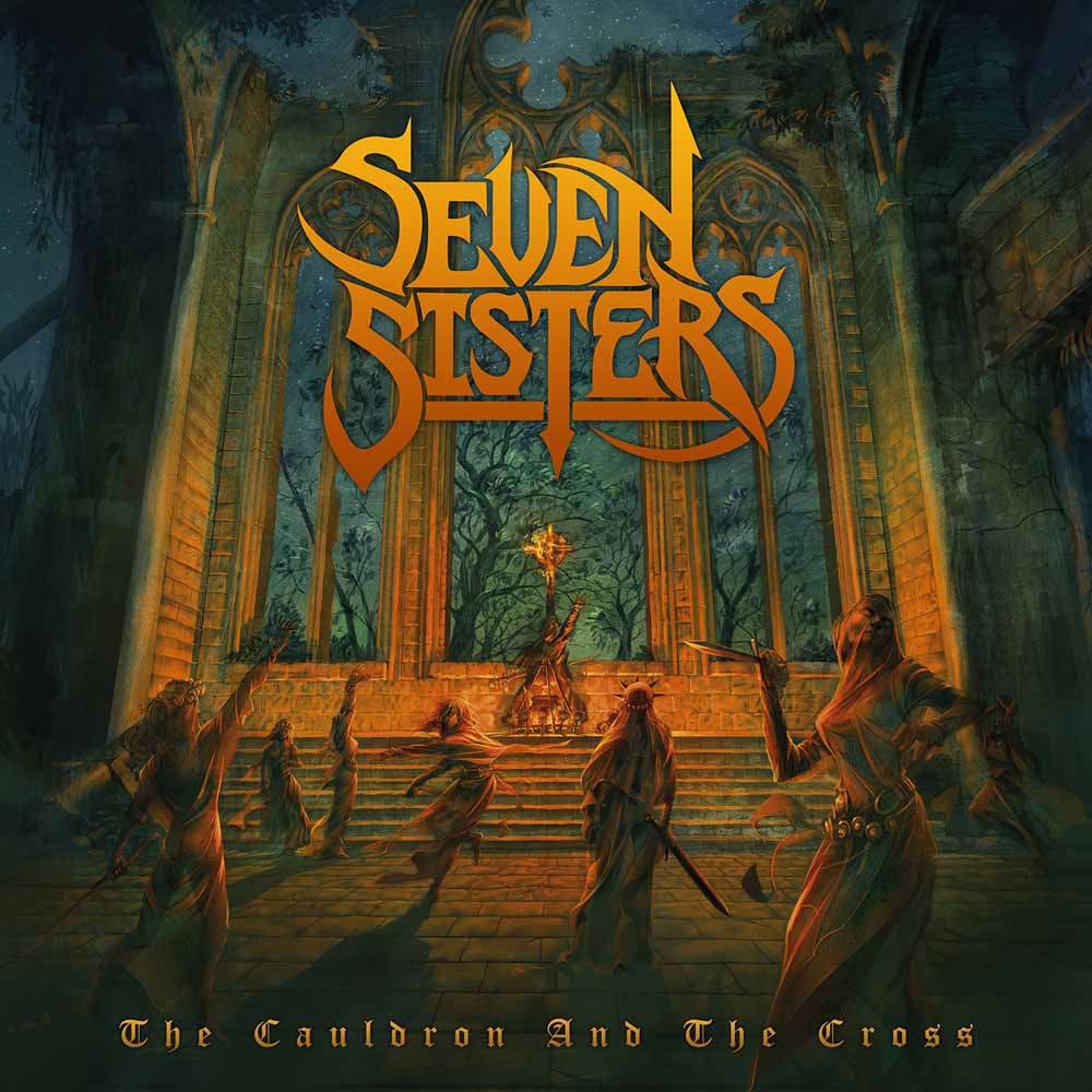 SEVEN SISTERS (2018) Heavy Metal ANGLETERRE DISS097CDD