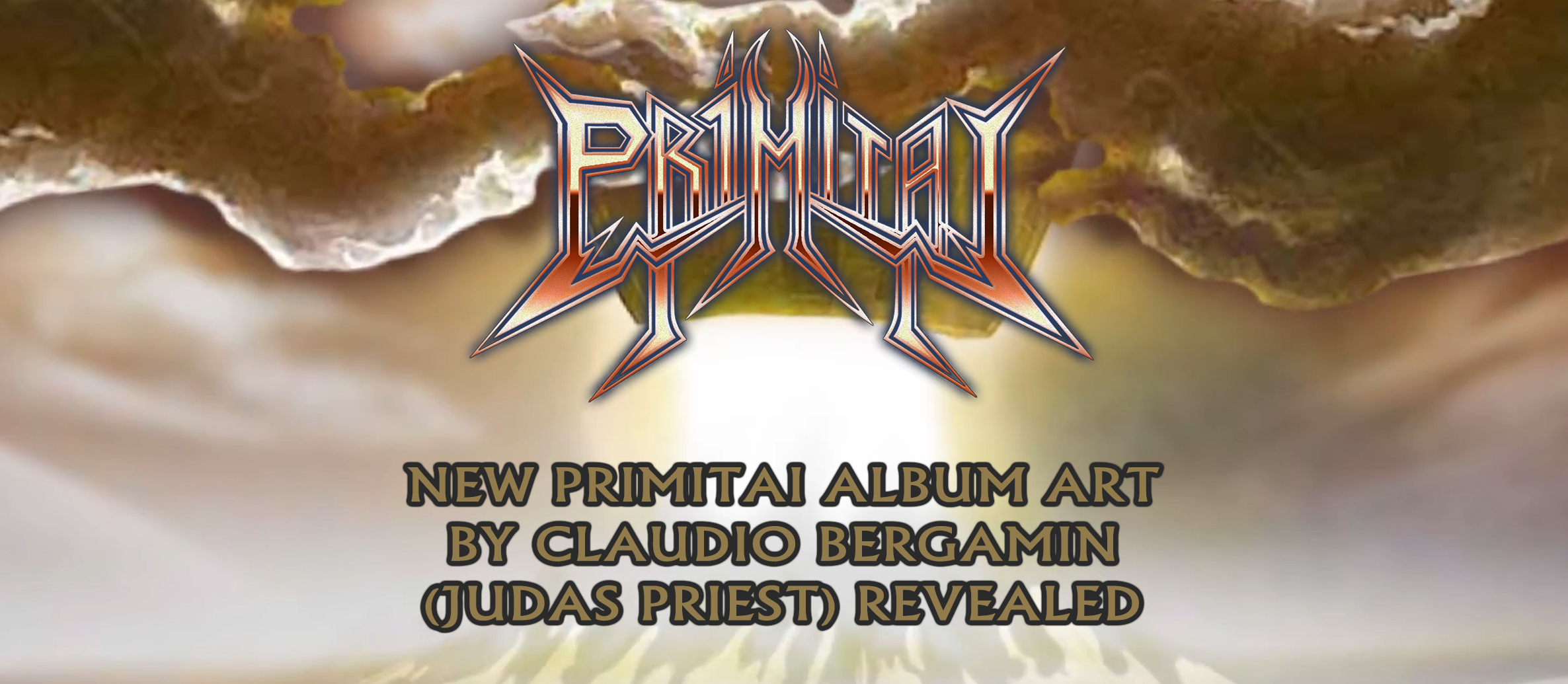 New album art by Claudio Bergamin (JUDAS PRIEST) revealed for upcoming Primitai album 'THE CALLING'!