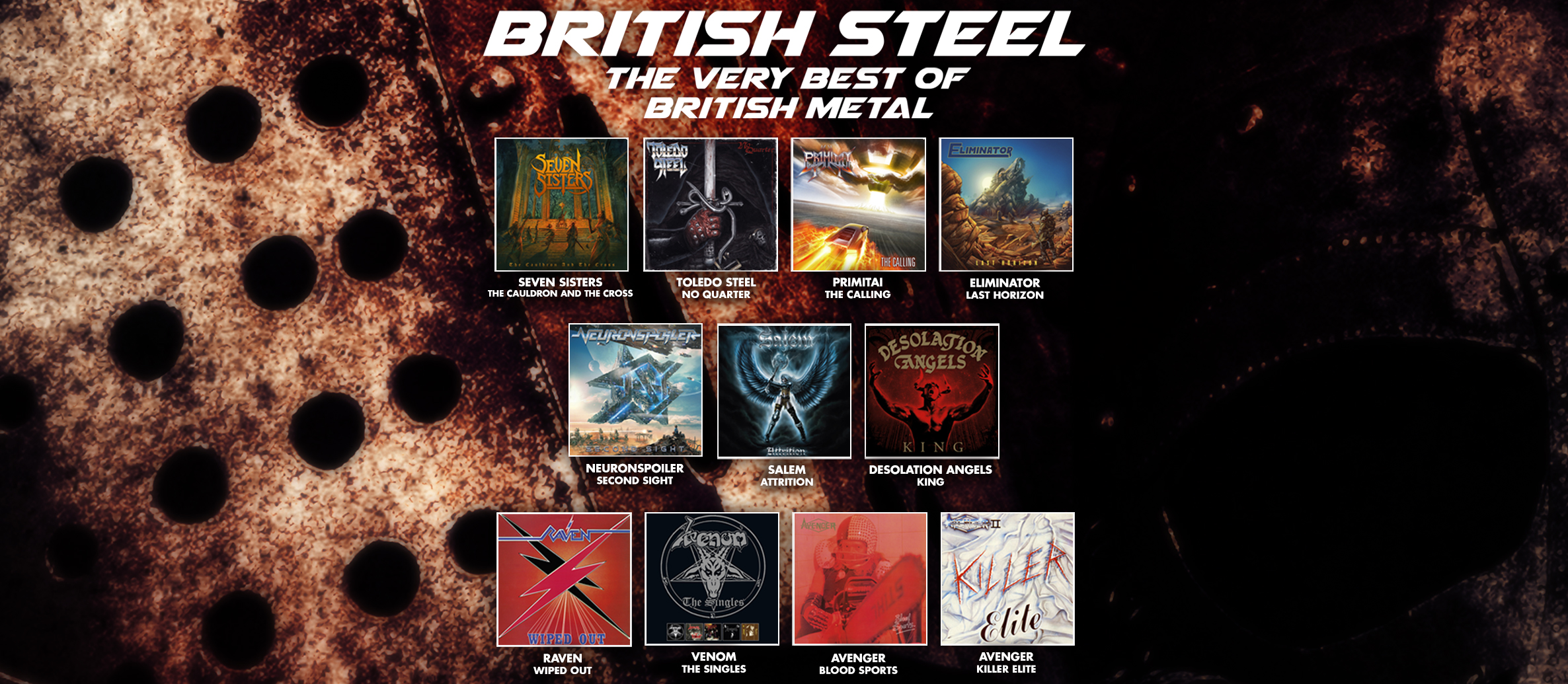 BRITISH STEEL – The Very Best Of British Heavy Metal