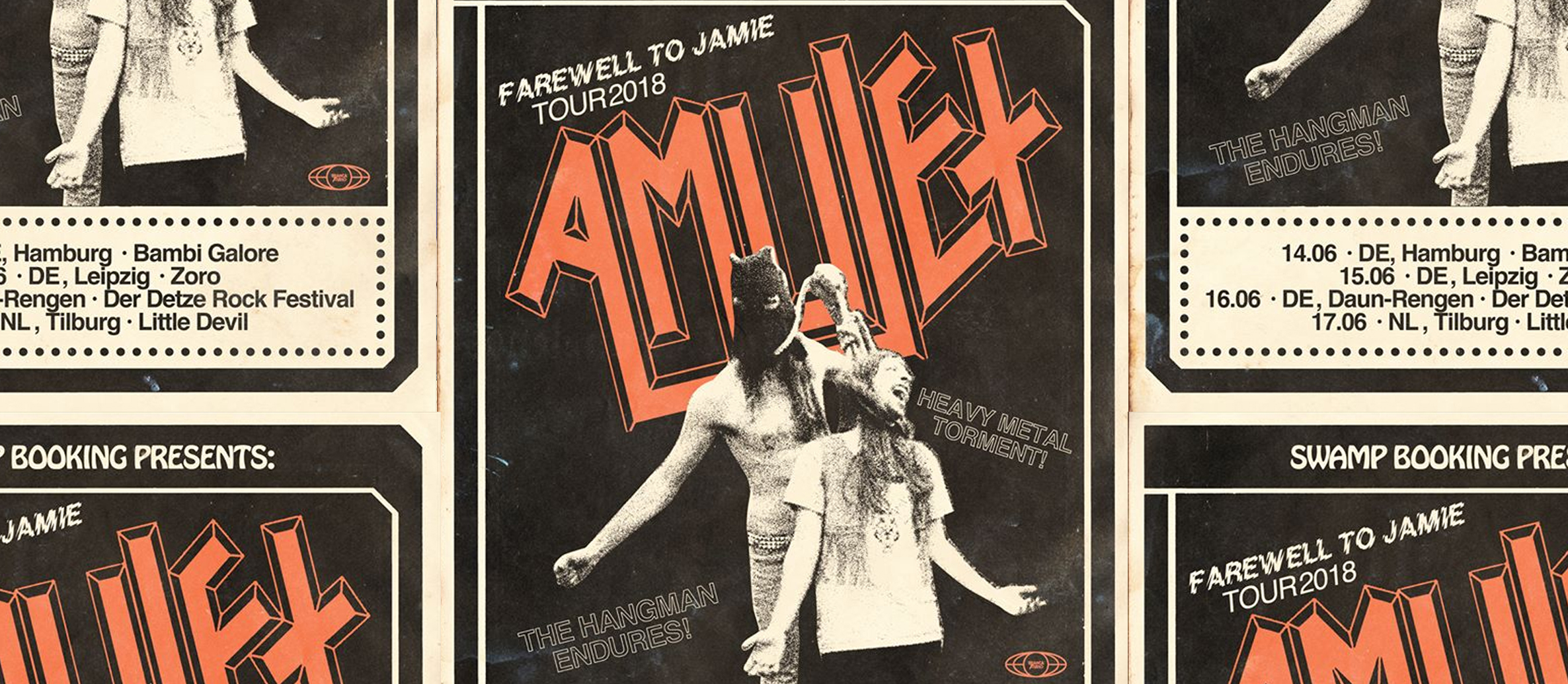 AMULET – live in Europe Tour diary with bassist Sam Mackertich