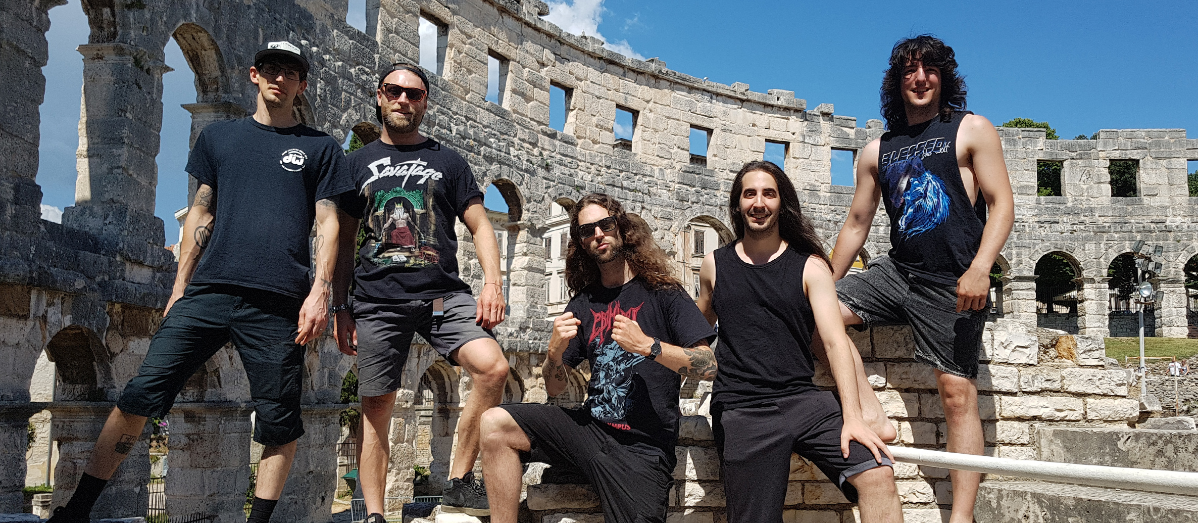CALLING FOR YOU – Primitai's guitarist Serj discusses some of the band's summer highlights