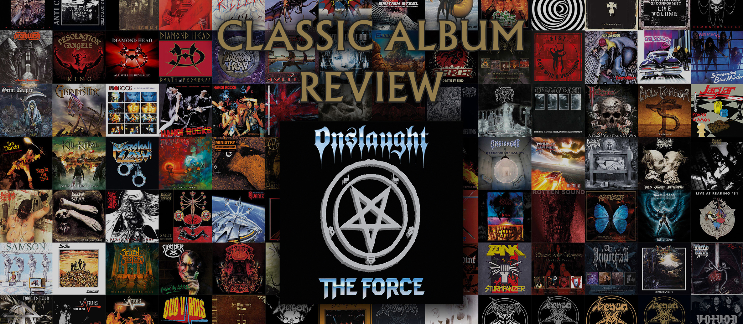 CLASSIC ALBUM REVIEW – Onslaught – 'The Force', 1986