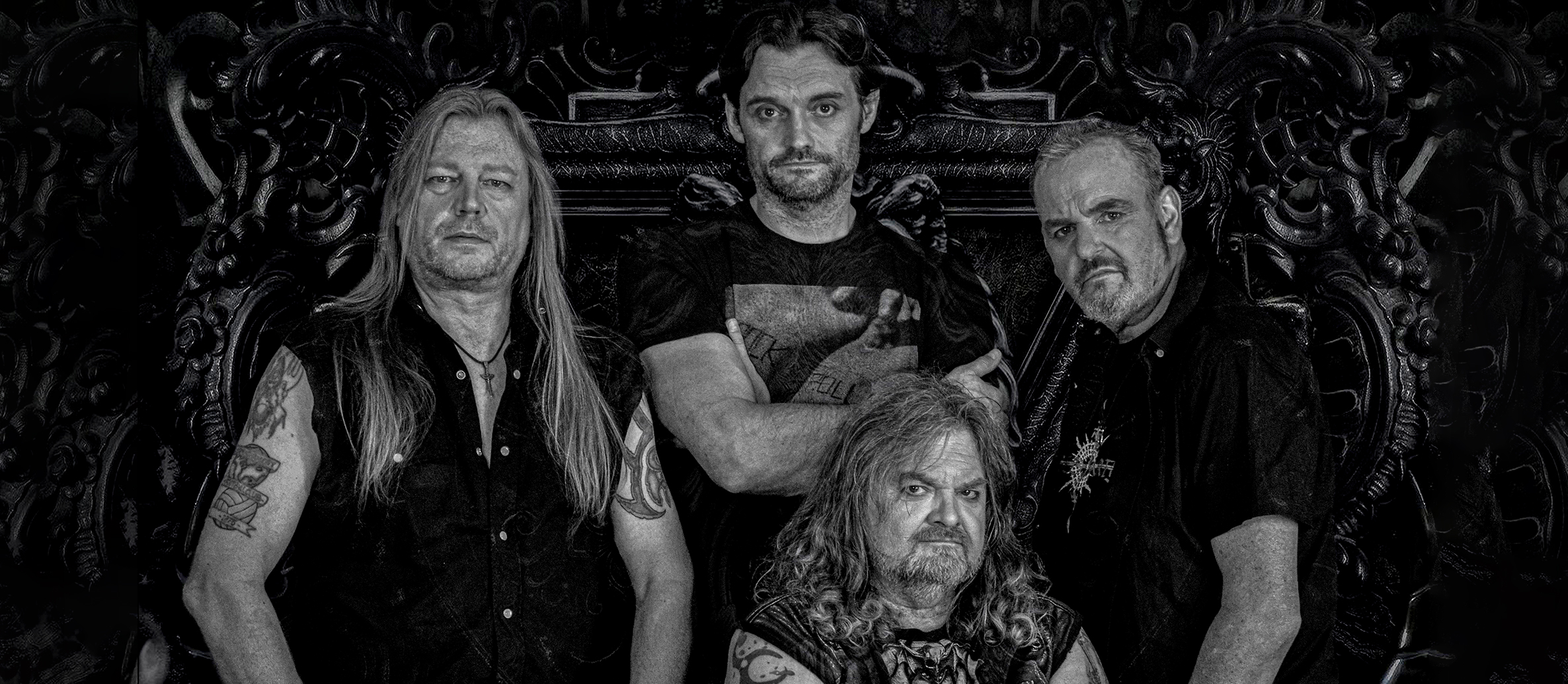 "Britsh NWOBHM Legends 'GRIM REAPER'  to release fifth studio album ""AT THE GATES"" October  11th!"