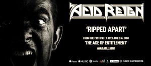 ACID REIGN LAUNCH NEW LYRIC VIDEO